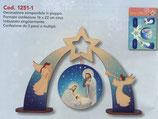 イタリア FB NATALE 卓上飾り ご降誕 16×22センチ 1251-1