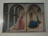 フィレンツェ サンマルコ美術館受胎告知ポストカード大判