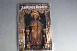 スペイン サンチャゴ デ コンポステーラ カード付き巡礼メダイ 聖ヤコブ ピン(赤ヤコブクロス)