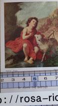 ご絵 絵画 St. John THE BAPTIST A-13 10,5センチ×6センチ 紙裏白