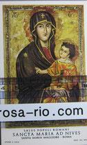 サンタマリアマッジョレー教会 イコン聖母子ご絵