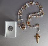 サンチャゴデコンポステーラ 聖ヤコブ 剣十字架 ホタテモチーフ3色ロザリオ 角