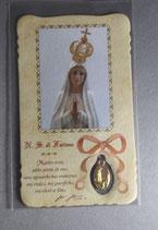 サンジョバンニロトンド 聖ピオ神父ファティマカード 10.5×6.2