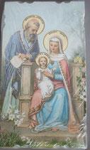 イタリア ご絵 Eucaristina 012 10.7×6センチ 飾り縁箔押し 紙裏白