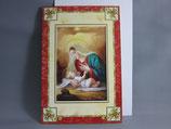 イタリア製 クリスマスカード 定型 聖家族 0550-1