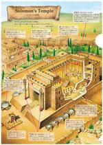 いのちのことば社 A4クリアファイル ソロモン神殿/度量衛