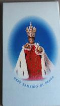 プラハ 幼子イエス 縦二つ折りマグネットシートカード