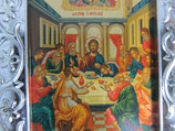 バチカン サンピエトロ大聖堂 最後の晩餐 壁掛け 枠サイズ10.7×10センチ