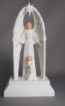 石膏 守護の天使 15センチ