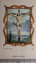 ご絵 絵画 CRISTO CROCIFISSO B-16 11,5×6.7センチ 紙裏白