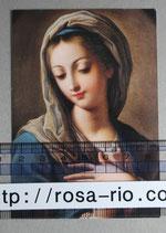 ご絵イタリア Vergine Maria への祈りご絵 10×7センチ 紙
