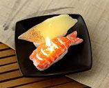 ロウソク 寿司えびハマチ