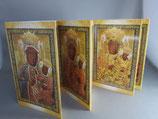 ヤスナグラの聖母 聖画変化ハガキ