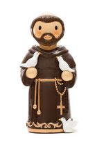 LDW 155260YX   Saint Francis statue   アッシジの聖フランシスコ