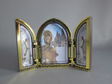 サンチャゴデコンポステーラ 卓上3面ご絵 6.5×10センチ