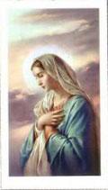 聖母マリア 祈り 1607