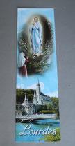 フランス ルルド ルルドの聖母 しおり21×6センチ 1019-335