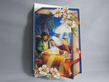 イタリア製 クリスマスカード 定型 聖家族0640-2