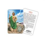 イタリア Art Ita メダイカード 英語 聖ユダ 7516