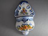ポルトガル 陶器 聖水ホルダー 17センチ
