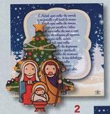 FB NATALE イタリア製 マグネット 聖家族 1100-2 6、5×6センチ
