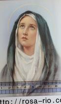 ご絵 手判 悲しみの聖母 C-56 14×9センチ 紙裏白