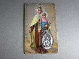 アメリカ カルメル聖母子 メダイカード