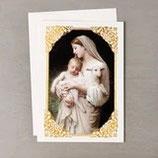 アメリカ カード 聖母子 イノセンスクリスマスカード 1枚