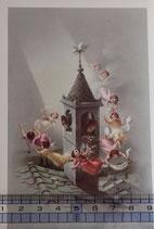ご絵 手判 天使の祝福 C-22 14×9センチ 紙裏白