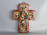 イタリア製 ドイツ修道院 ボテッチェリの聖母十字架 15×11センチ