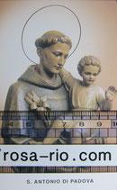 聖人ご絵 パドヴァの聖アントニオ パドヴァ大聖堂祈りカード