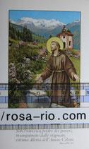 聖人ご絵 アッシジの聖フランシスコ イタリアアッシジご絵