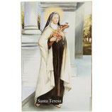 イタリア 幼きイエズスの聖テレサ イタリア語祈りカード高さ11cm 幅7cm SA002084