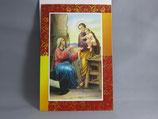イタリア製 クリスマスカード 定型 聖家族 0599-1