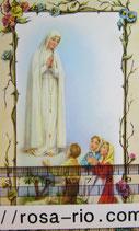 御絵 ファティマの聖母 B  花ファティマ