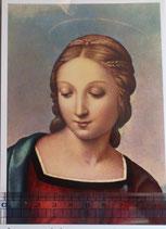 ご絵 紙裏白 15×10.5センチ アートF-1 ラファエロ聖母