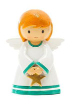 LTW   1852317YX December  Guardian Angel statue 12月の守護天使 星