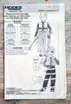 Patron de couture Modes & Travaux - Déguisement pirate/Robin des bois