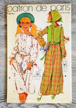 Pochette patron de Paris 10519e - Robe fillette (Vintage)