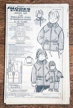 Patron de couture Modes & Travaux - Parka mixte enfant et parka-pantalon poupée