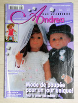 Magazine Les créations d'Andréa 0542 spécial mode de poupée