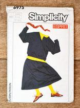 Pochette patron couture Simplicity 6975 / Ensemble fille
