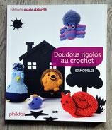 NEUF Livre Doudous rigolos au crochet - 50 modèles
