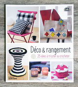 Livre Déco & rangement - 25 idées à tricoter ou crocheter