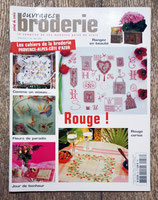 Magazine Ouvrages broderie 58 de mai 2004 - Rouge !