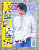Magazine tricot Sandra 115 - février 1994