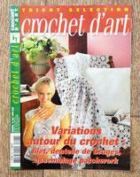 Magazine Tricot sélection - Crochet d'art 296