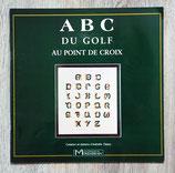 Livre ABC du golf au point de croix
