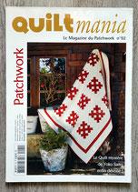 Magazine Quiltmania n°92