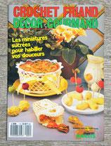 Magazine Crochet friand, décor gourmand